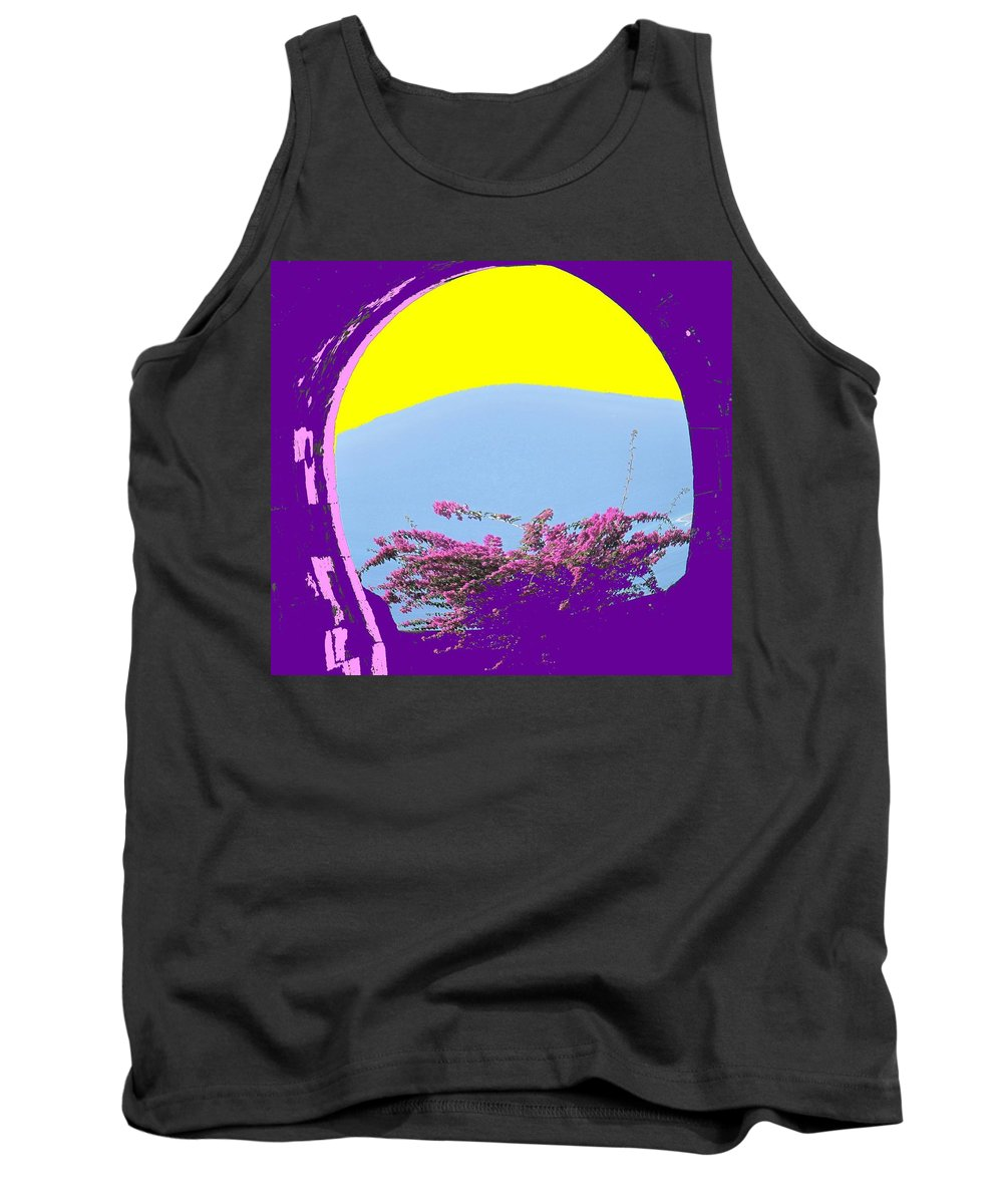 Brimstone Tank Top featuring the photograph Brimstone Gate by Ian MacDonald
