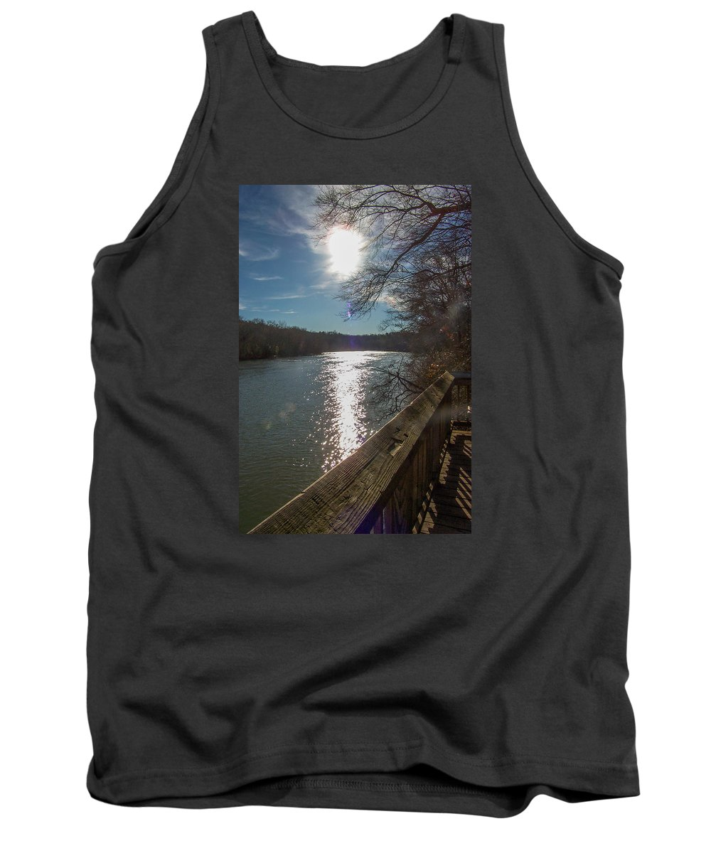 Tank Top featuring the photograph Broad River by Susan Persons