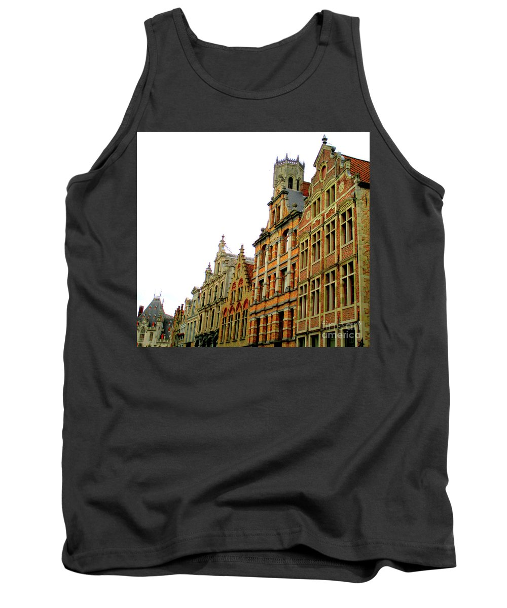 Bruges Tank Top featuring the photograph Bruges 37 by Randall Weidner