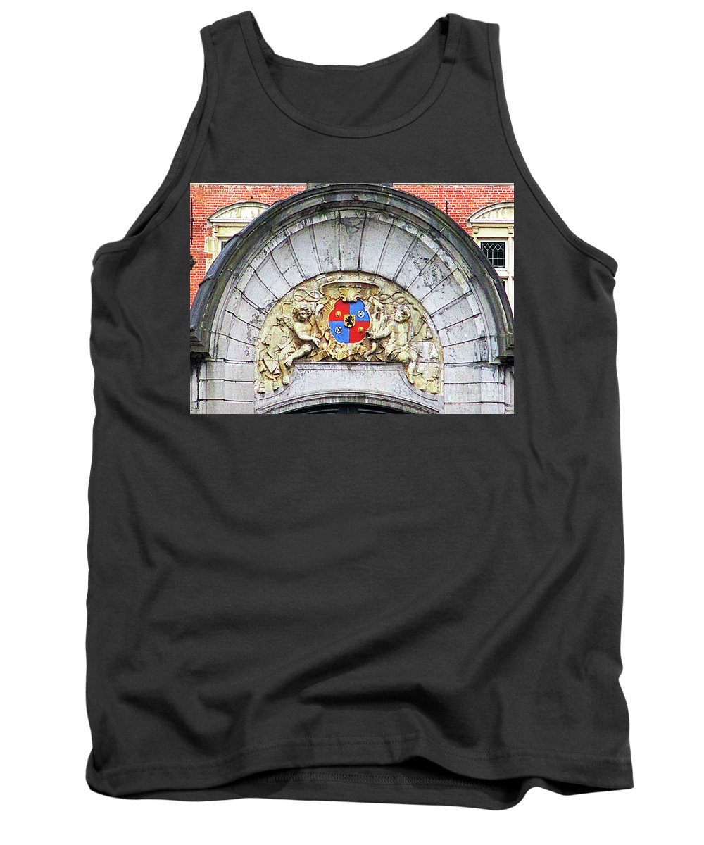 Bruges Tank Top featuring the photograph Bruges Detail 11 by Randall Weidner