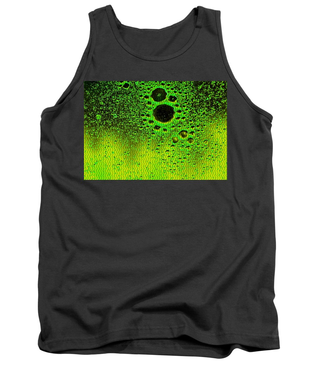 Announcement Tank Top featuring the digital art Bubbliana Catus 1 No.3 H B by Gert J Rheeders