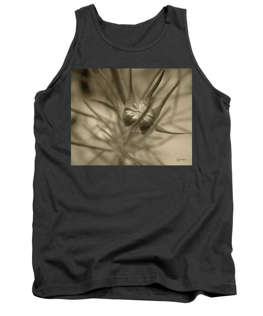 Bud Tank Top featuring the photograph Budding Beauty by RC DeWinter