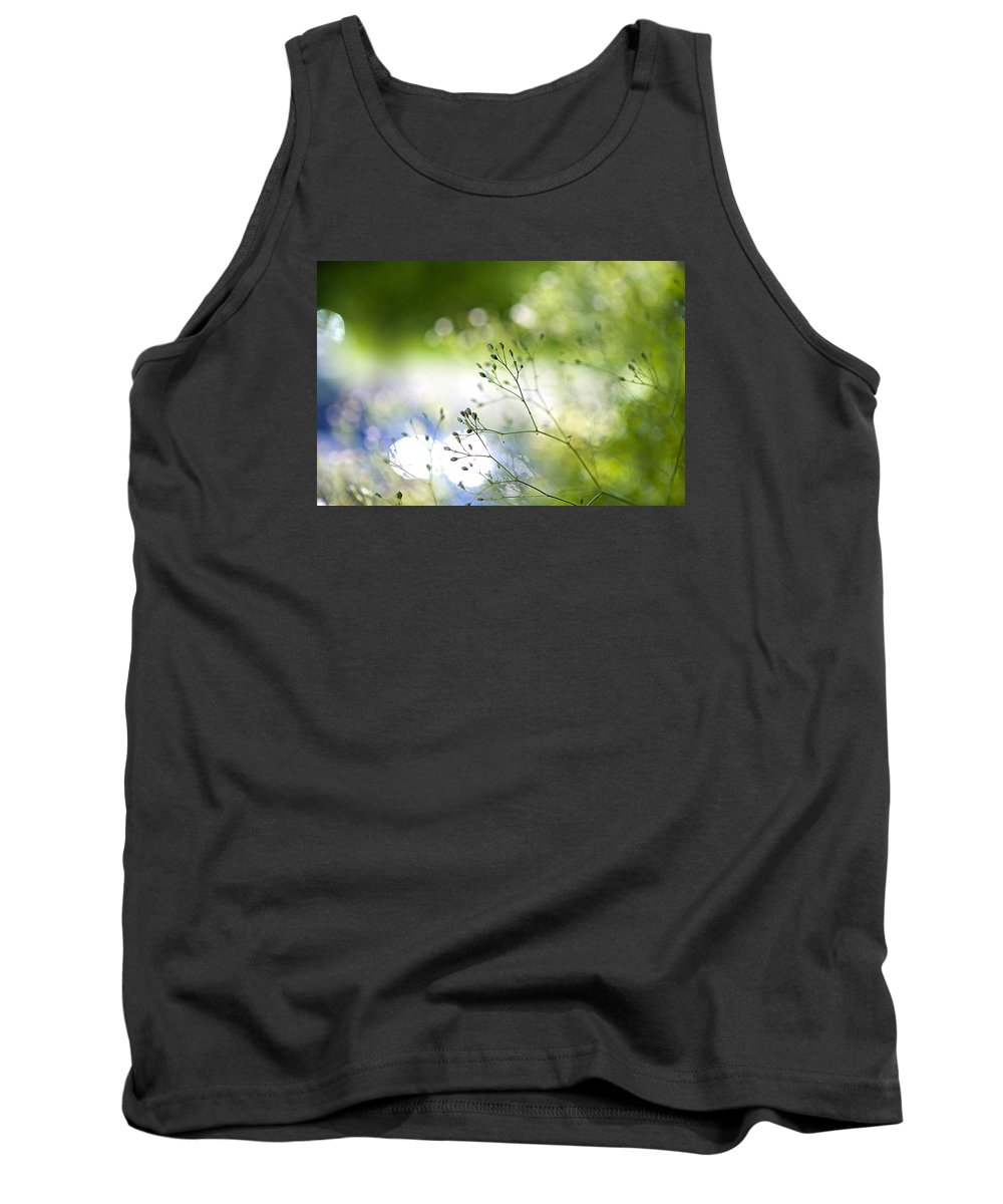Plants Tank Top featuring the photograph Budding Plant by Robert Skuja