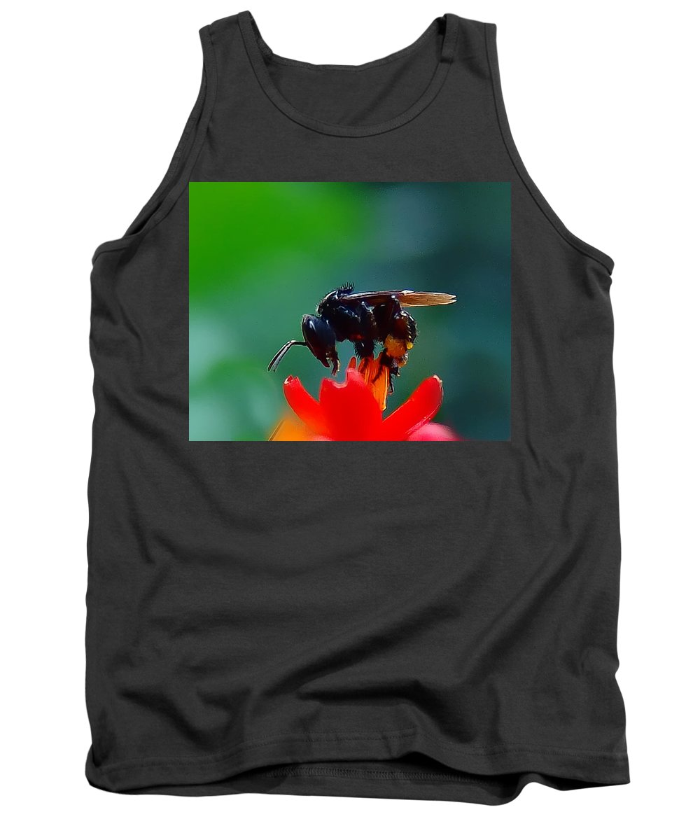 Insect Tank Top featuring the photograph Bug by Galeria Trompiz