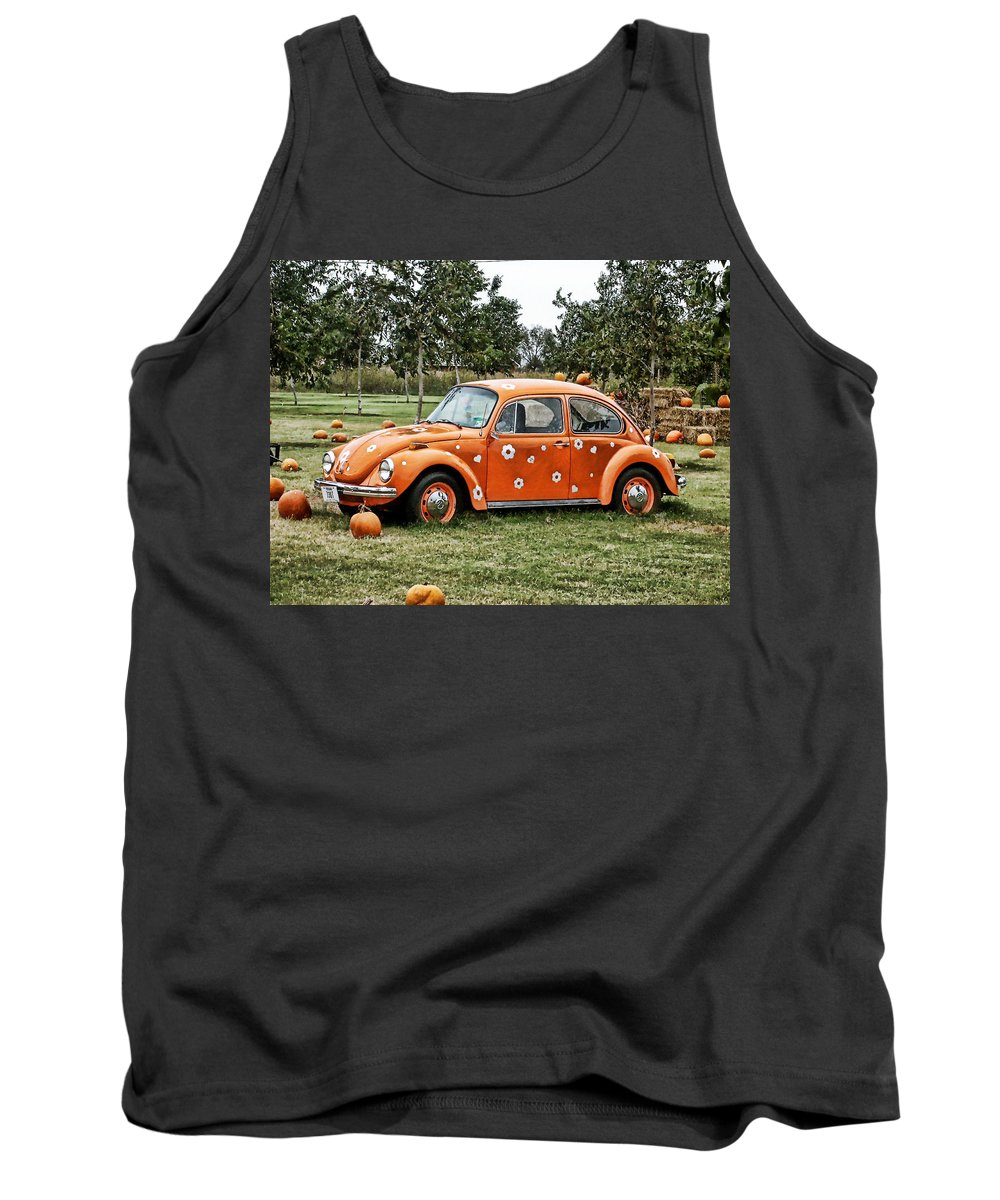 Bug Tank Top featuring the photograph Bugs In The Patch Again by Scott Wyatt