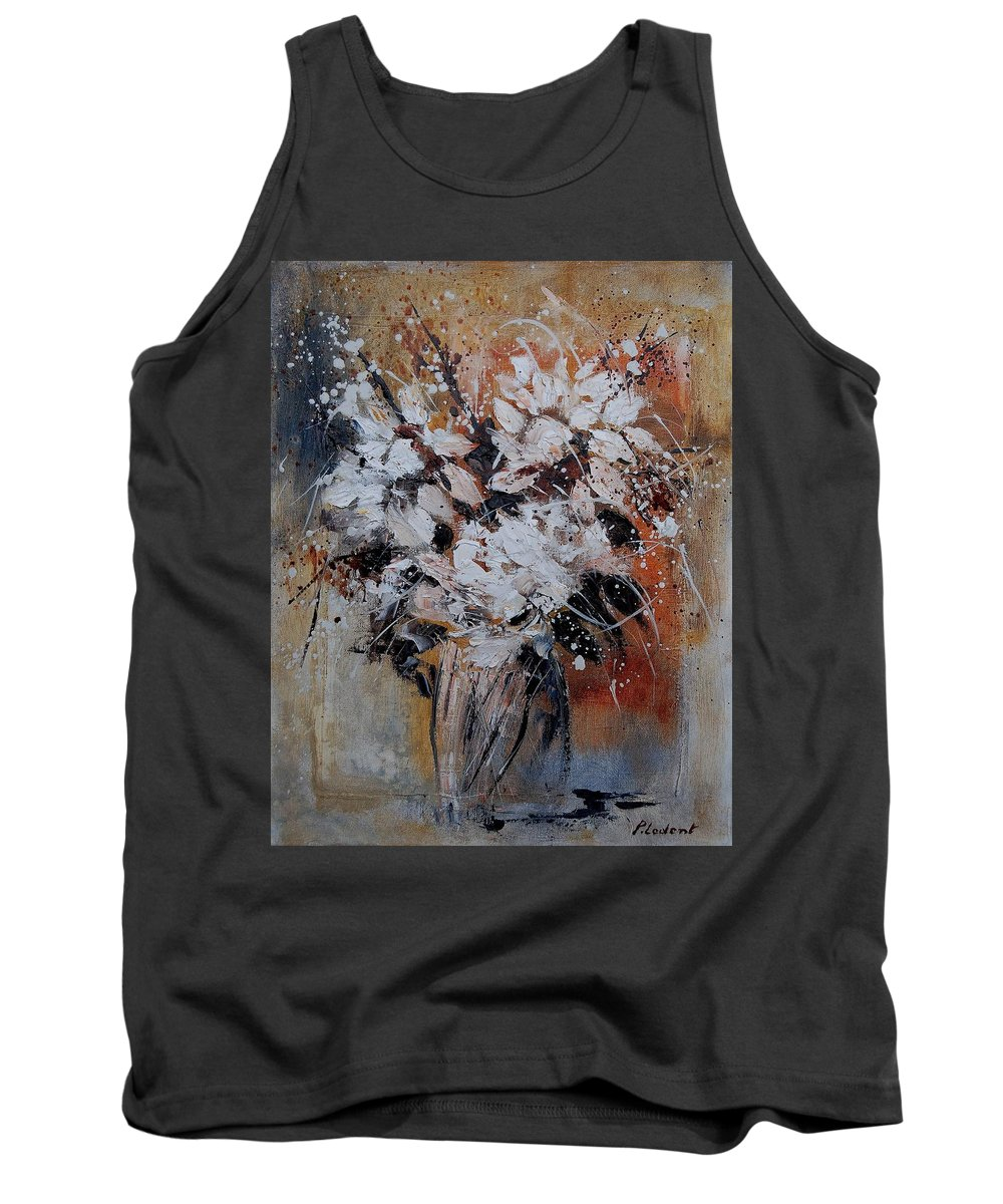 Flowers Tank Top featuring the painting Bunch 45900140 by Pol Ledent
