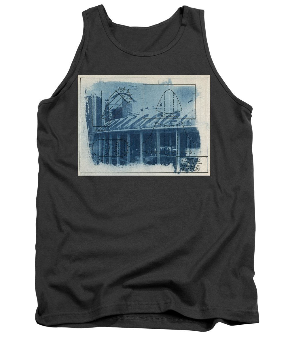Blue Tank Top featuring the photograph Busch Stadium by Jane Linders