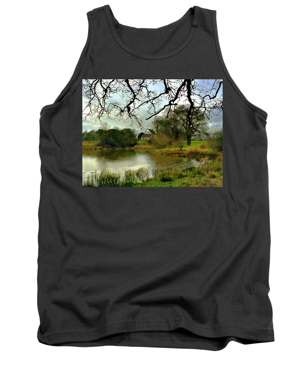 England Tank Top featuring the photograph Butlers Retreat Epping Forest Uk by Kurt Van Wagner