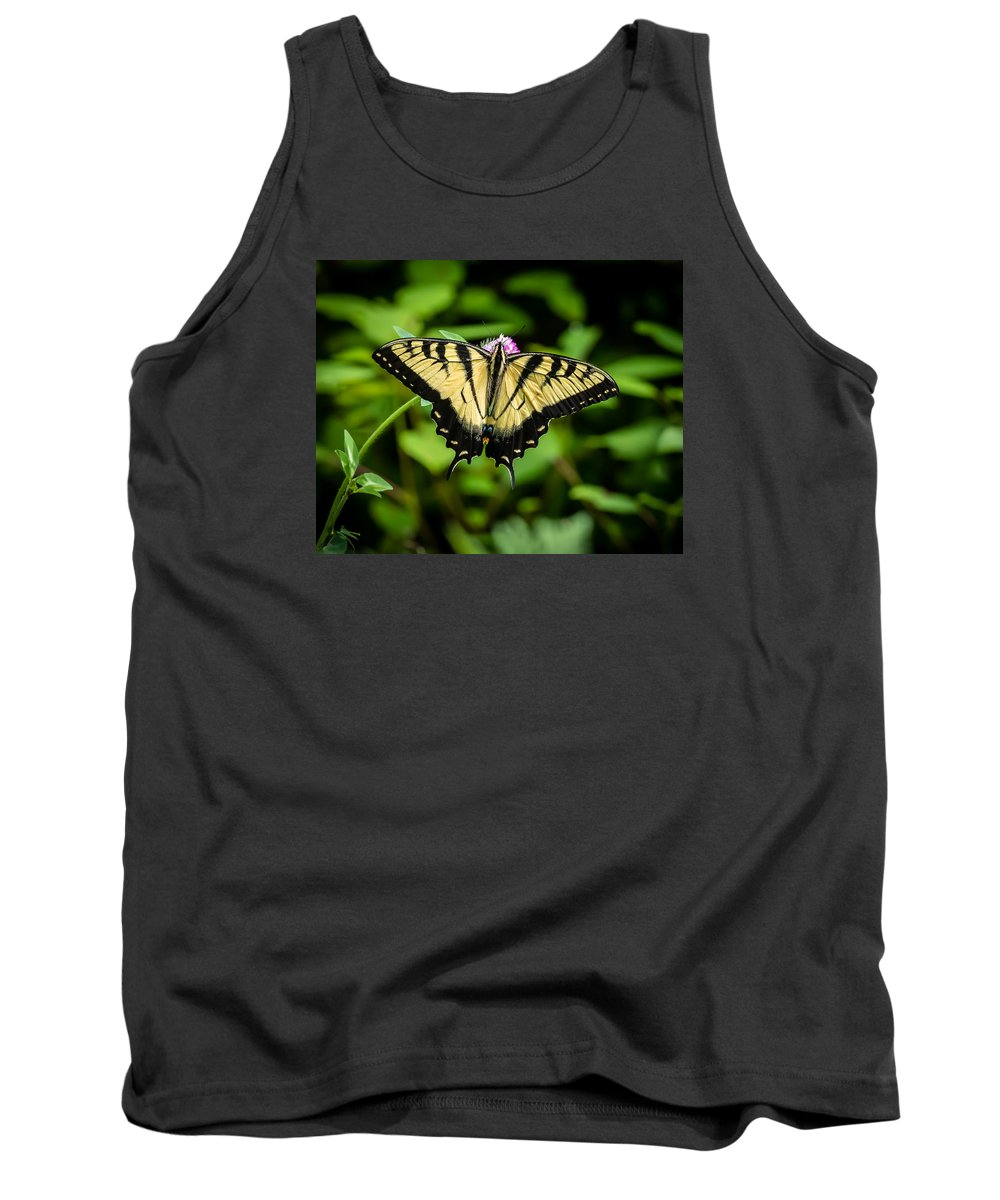 Art Tank Top featuring the photograph Butter Fly by Gary Migues