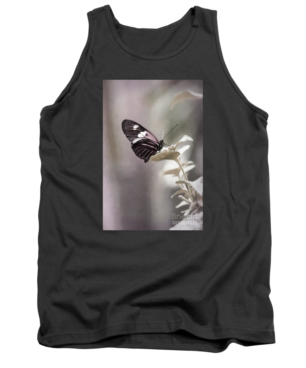Nature Tank Top featuring the photograph Butterfly Bliss by Sharon McConnell