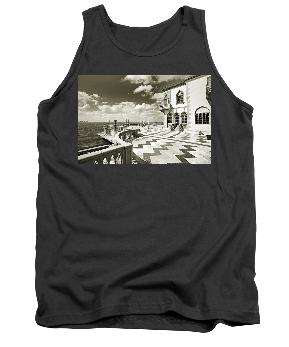 Ringling Tank Top featuring the photograph Ca D'zan Mansion by Mal Bray