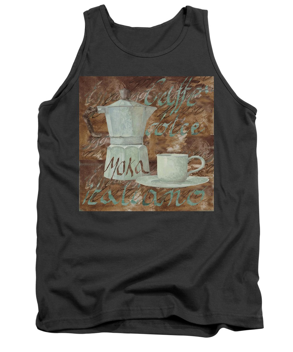 Caffe Tank Top featuring the painting Caffe Espresso by Guido Borelli