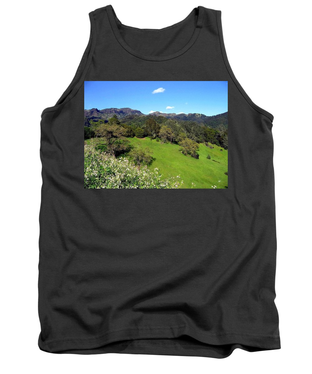 California Tank Top featuring the photograph California Highlands by Will Borden