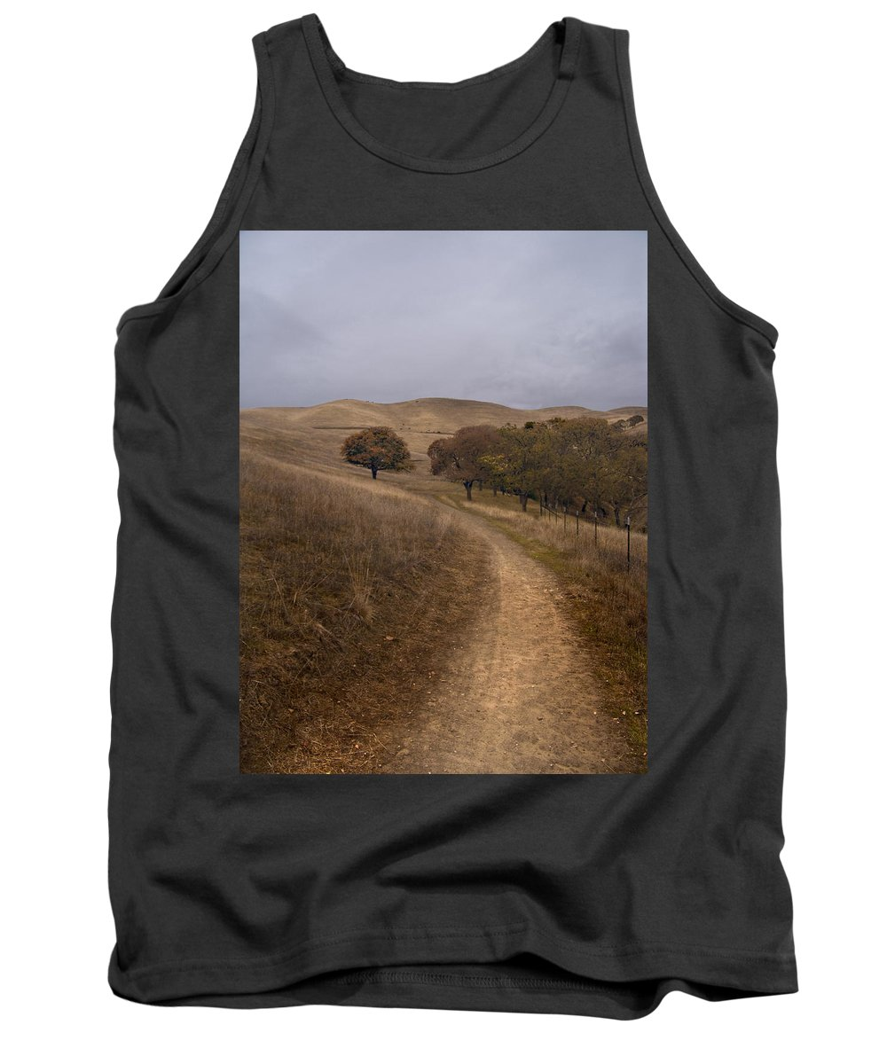Landscape Tank Top featuring the photograph California Winter by Karen W Meyer