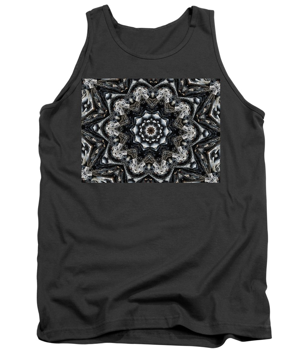 Campfire Tank Top featuring the photograph Campfire by Bob Welch