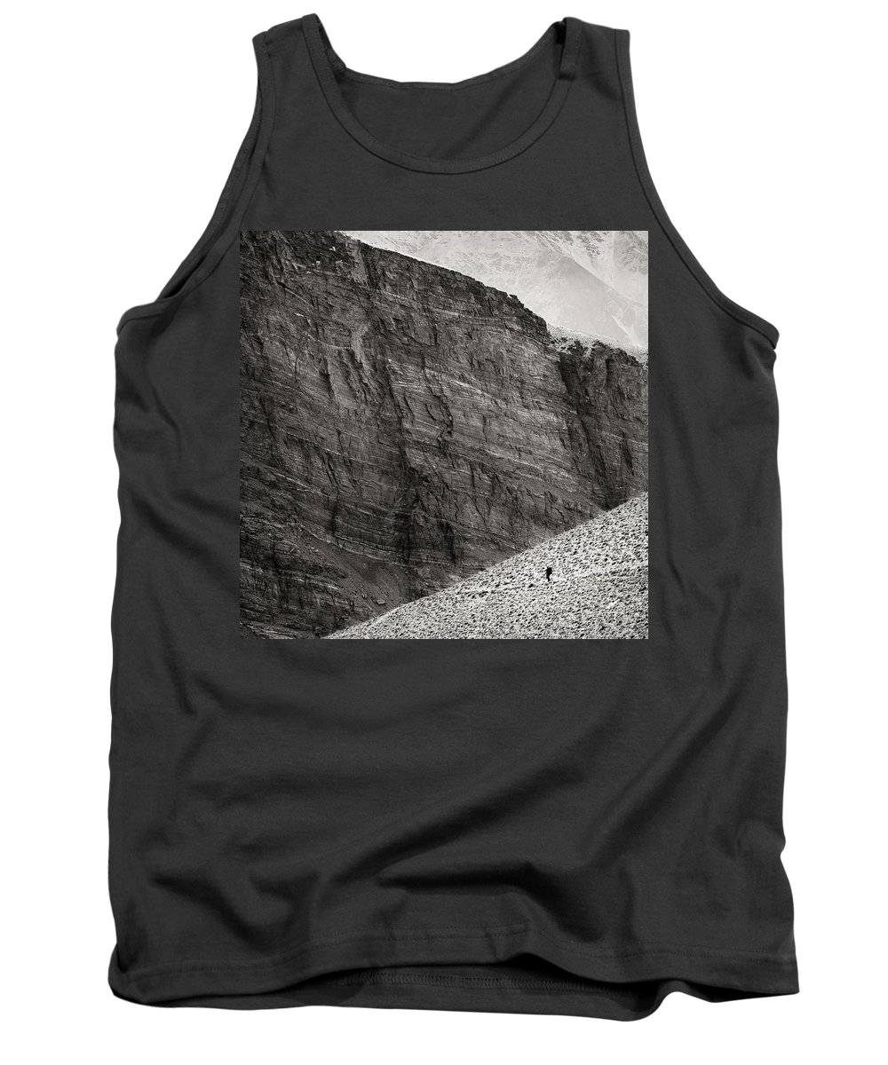 Alone Tank Top featuring the photograph Canyon Nishgar by Konstantin Dikovsky