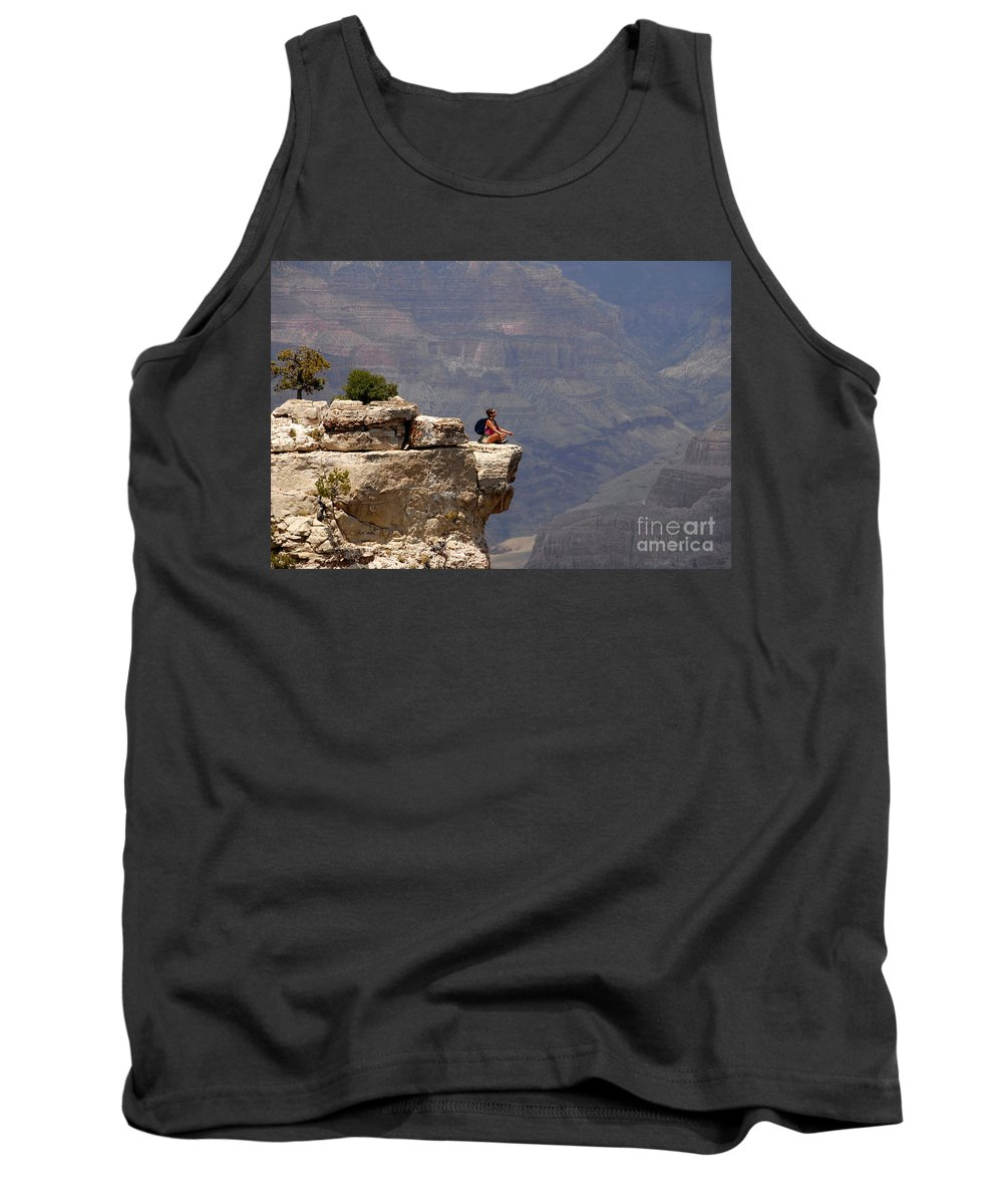 Grand Canyon National Park Arizona Tank Top featuring the photograph Canyon Thoughts by David Lee Thompson