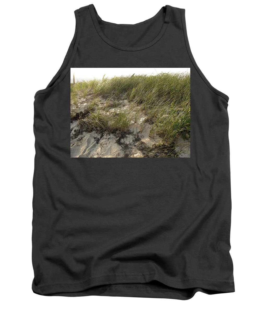Cape Cod Tank Top featuring the photograph Cape Cod Beach 1 by Mark Sellers