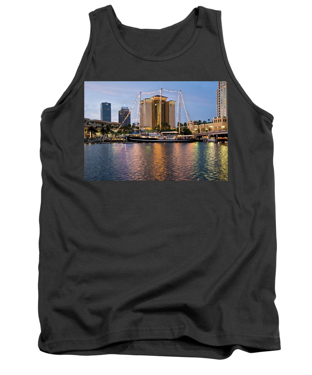 Capitan Miranda Tank Top featuring the photograph Capitan Miranda In Tampa by Steven Sparks