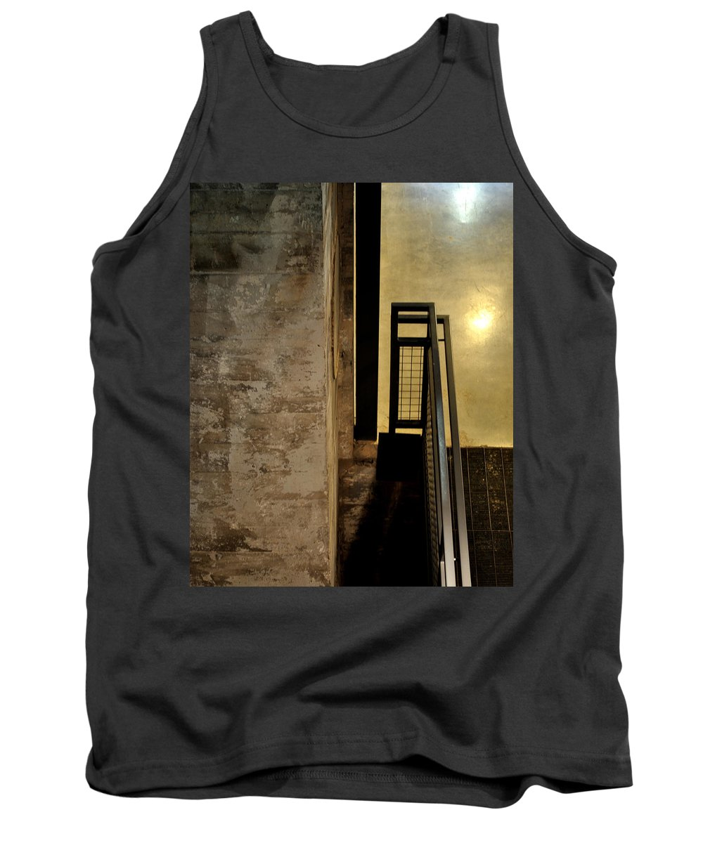 Abstract Tank Top featuring the photograph Carlton 11 by Tim Nyberg