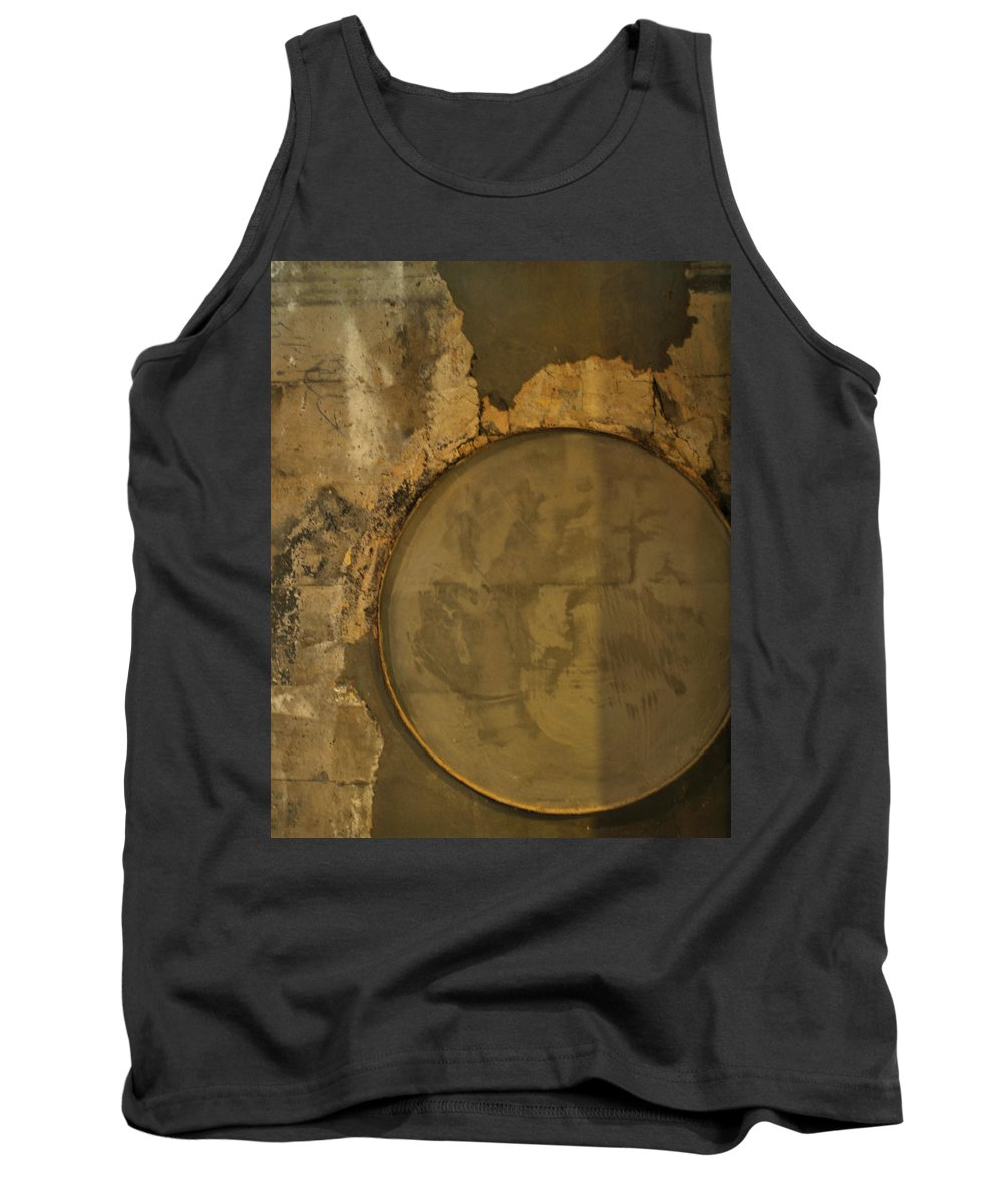 Concrete Tank Top featuring the photograph Carlton 3 - Abstract Concrete by Tim Nyberg