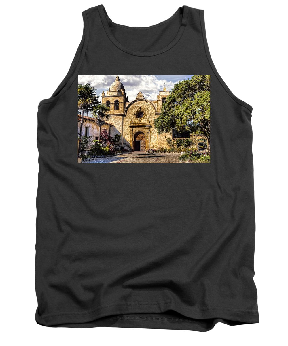 Carmel Tank Top featuring the photograph Carmel By The Sea by Bruce Bottomley
