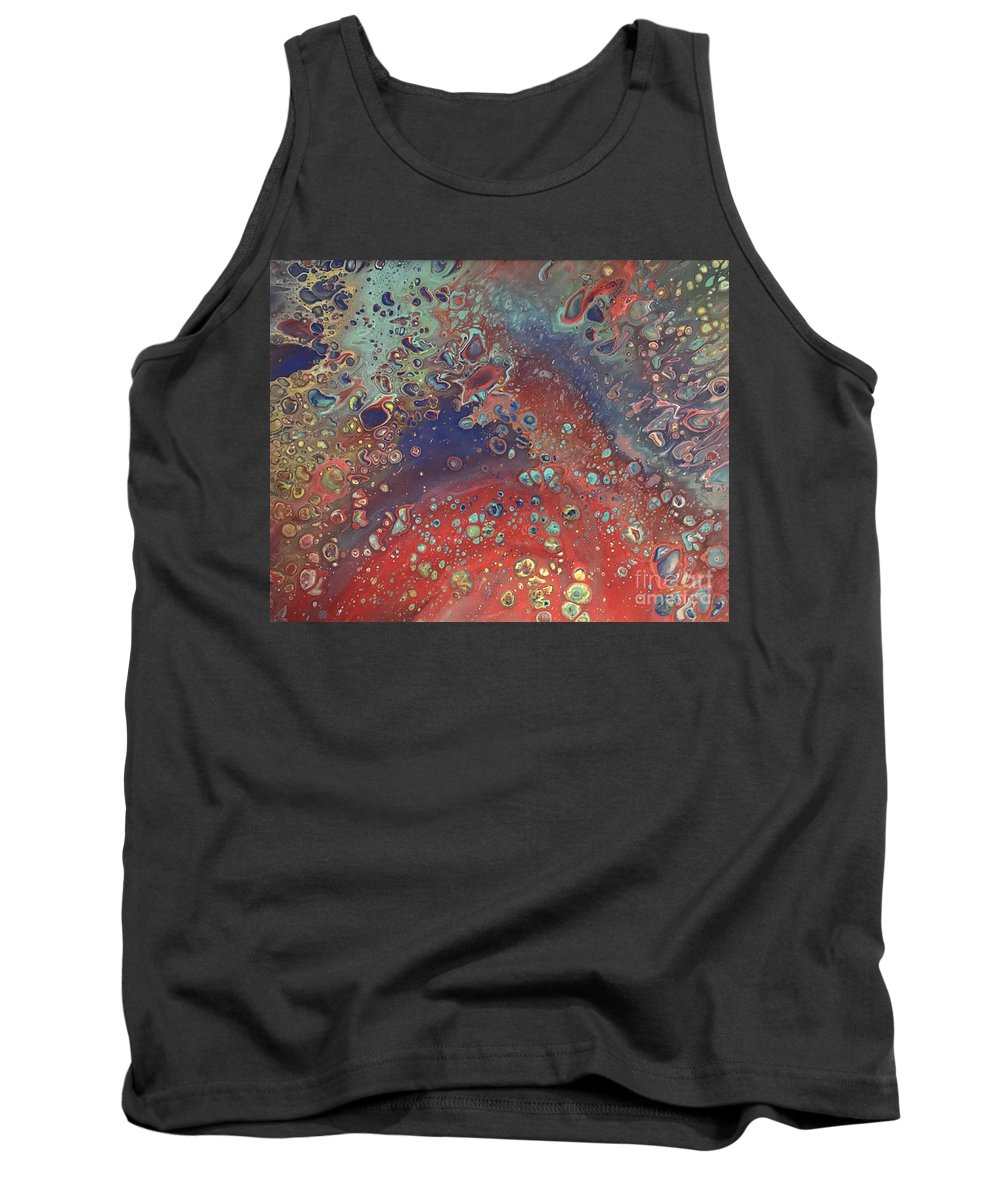 Acrylic Tank Top featuring the painting Carnivale by Meghan McCollum