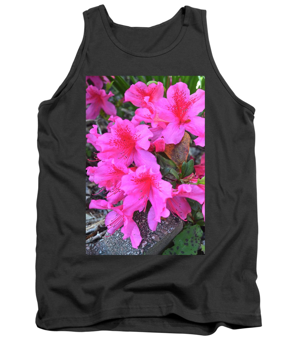 Flower Tank Top featuring the photograph Cascade by Jo Frances White