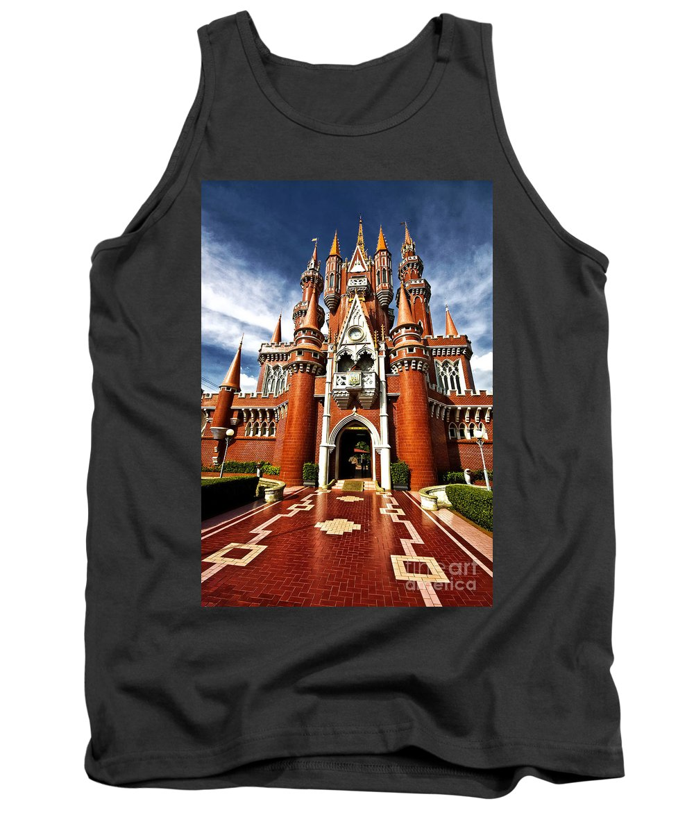 Children Tank Top featuring the photograph Castle Taman Mini Indonesia Indah by Charuhas Images