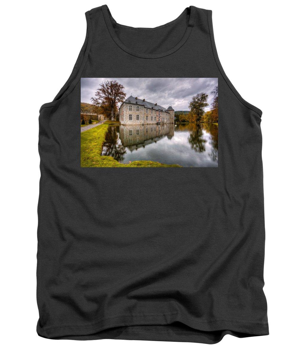 Castle Tank Top featuring the photograph Castle by Vincent Ferooz