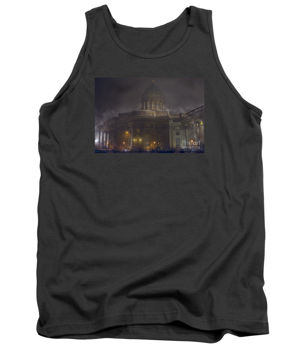 Cathedral Of Our Lady Of Kazan Tank Top featuring the photograph Cathedral Of Our Lady Of Kazan by Elena  Kucherenko