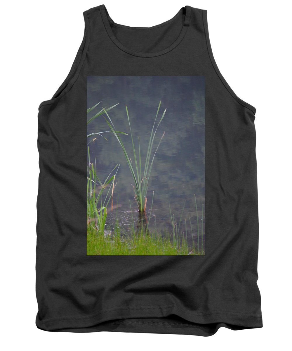 Cattail Tank Top featuring the photograph Cattail by Erica Degni