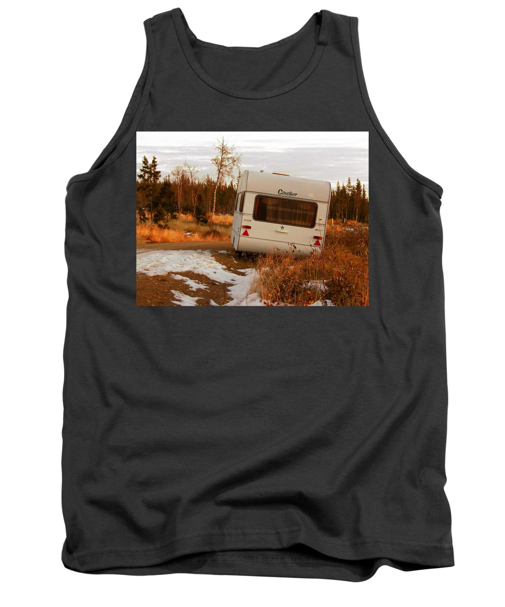 Caravan Tank Top featuring the photograph Cavalier by Are Lund