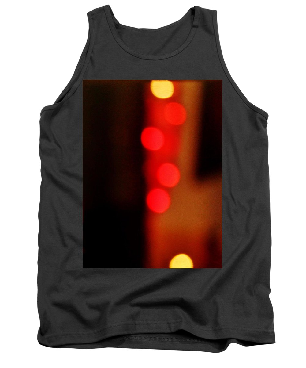 Lights Tank Top featuring the photograph Cell by Danielle Valencia D