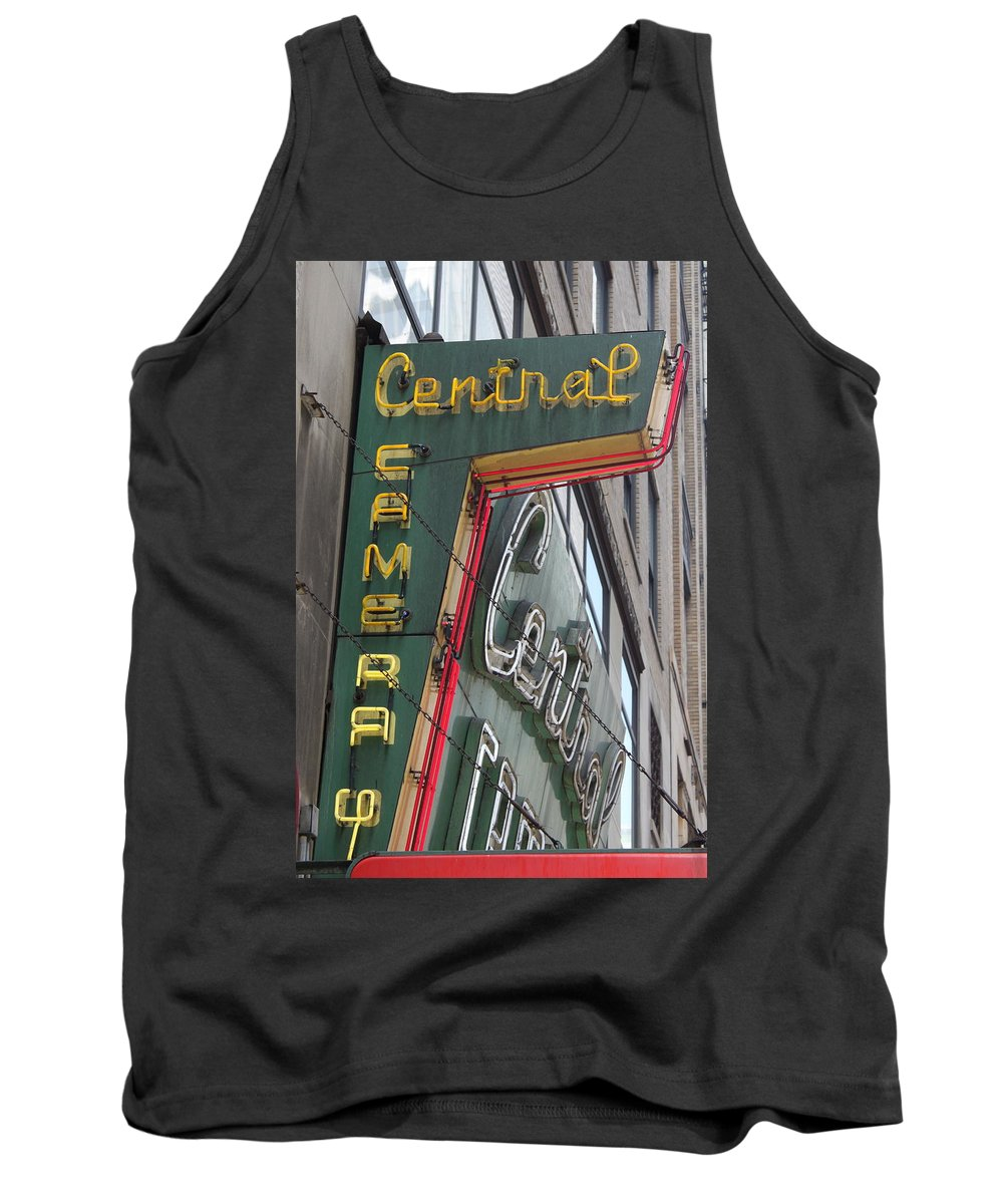 Chicago Tank Top featuring the photograph Central Camera by Lauri Novak