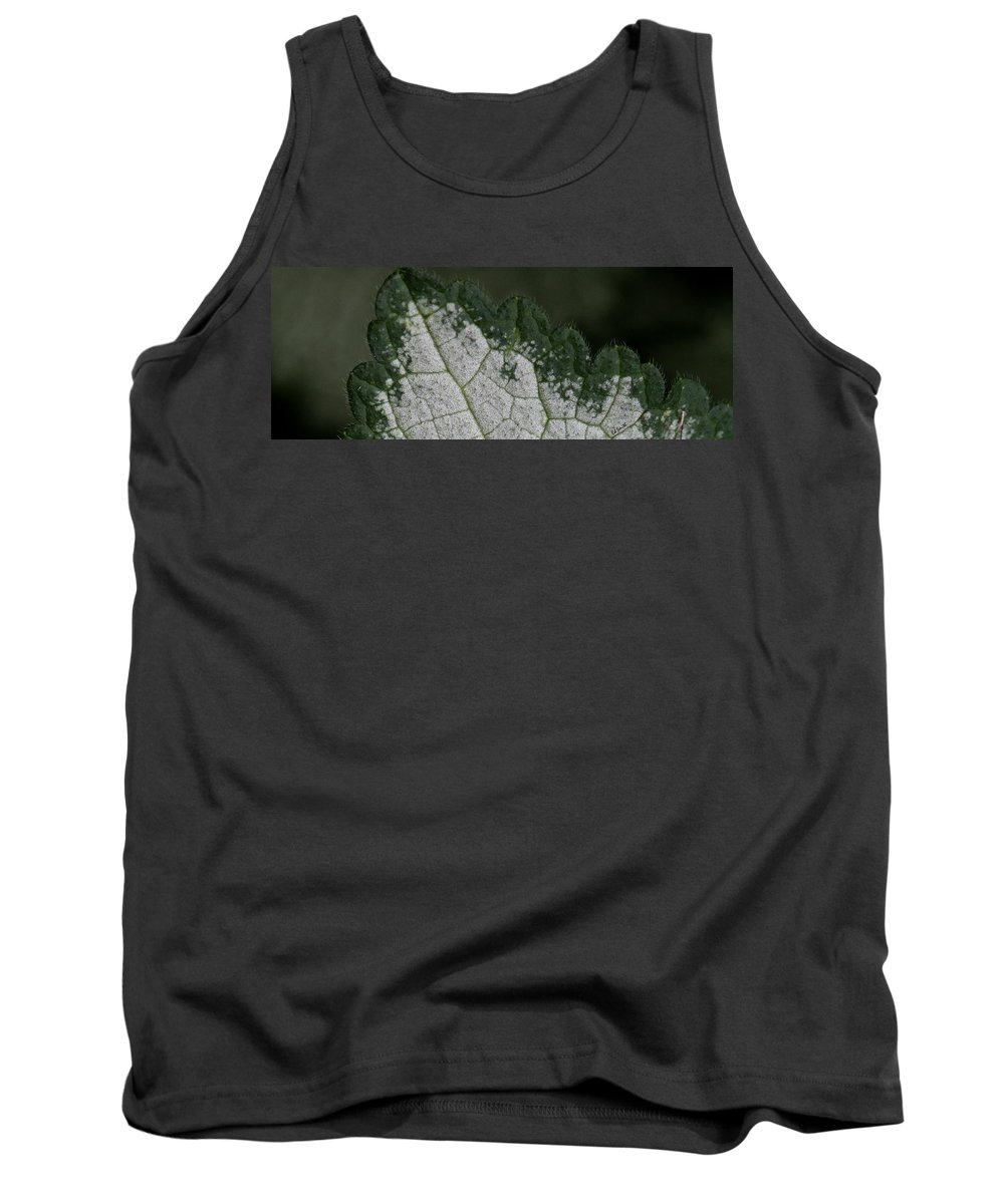 Chainsaw Tank Top featuring the photograph Chainsaw by Ed Smith