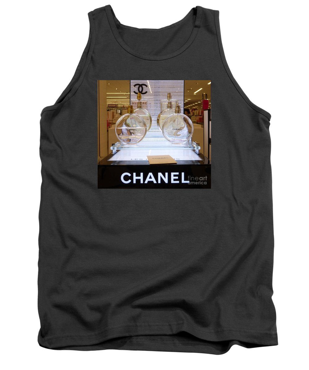 Chanels Tank Top featuring the photograph Chanel Chance 2 by To-Tam Gerwe