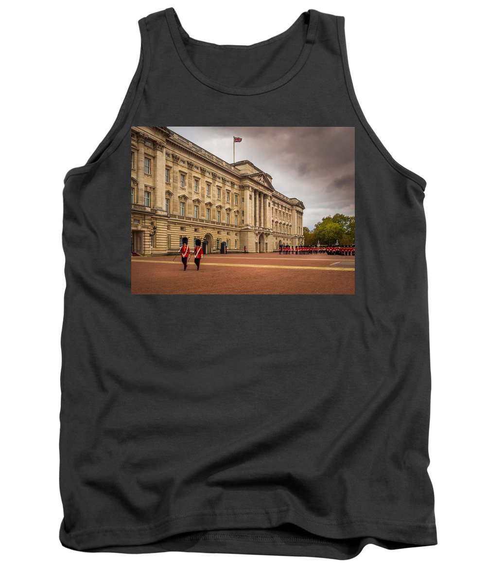 Storm Tank Top featuring the photograph Changing Of The Guard by Mark Llewellyn