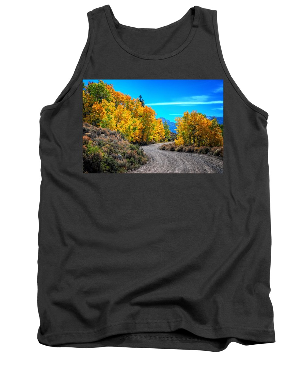 Fall Tank Top featuring the photograph Changing Times by Lynn Bauer