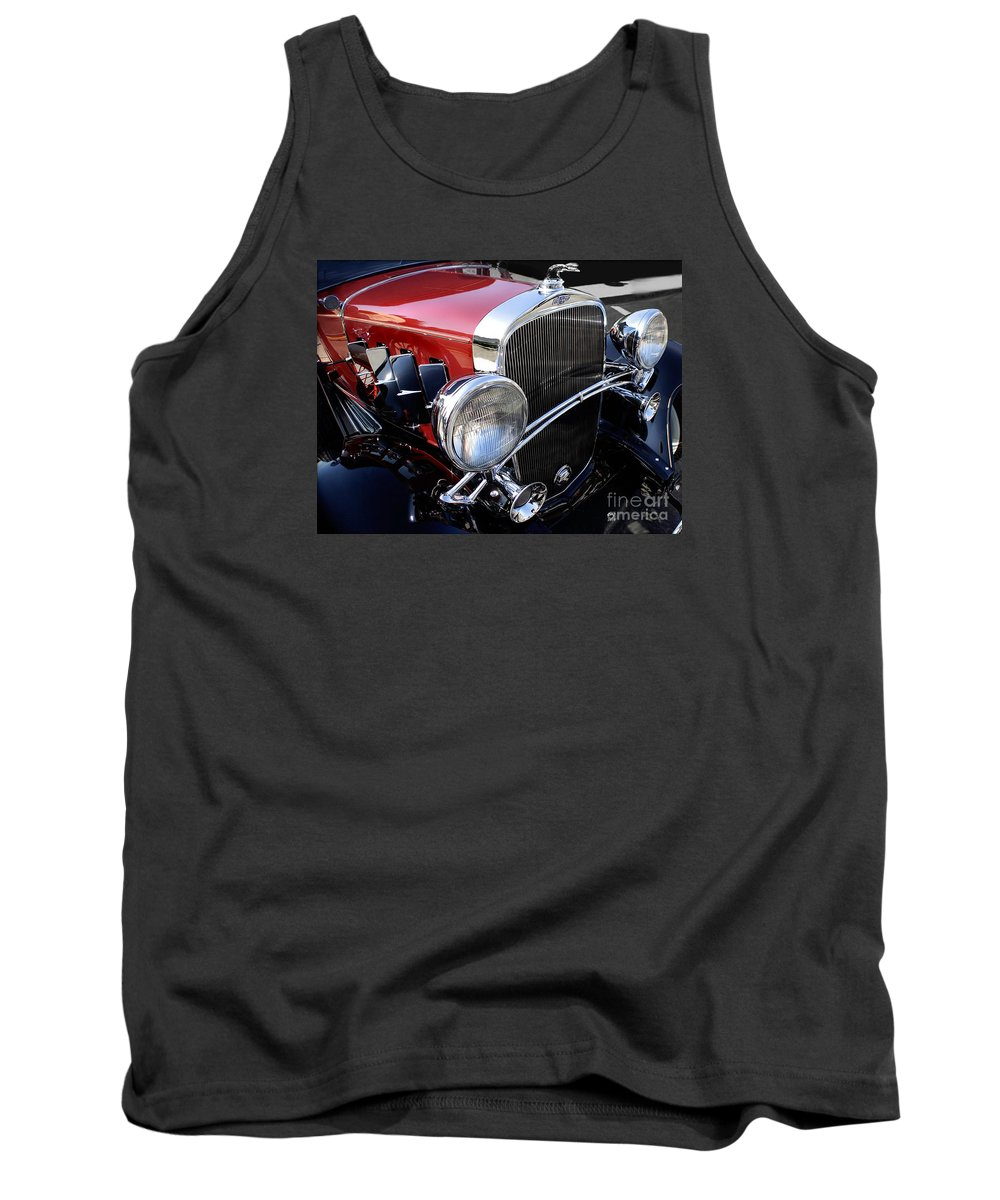 Chevrolet Tank Top featuring the photograph Chevrolet 1932 Deluxe Coupe by Curt Johnson
