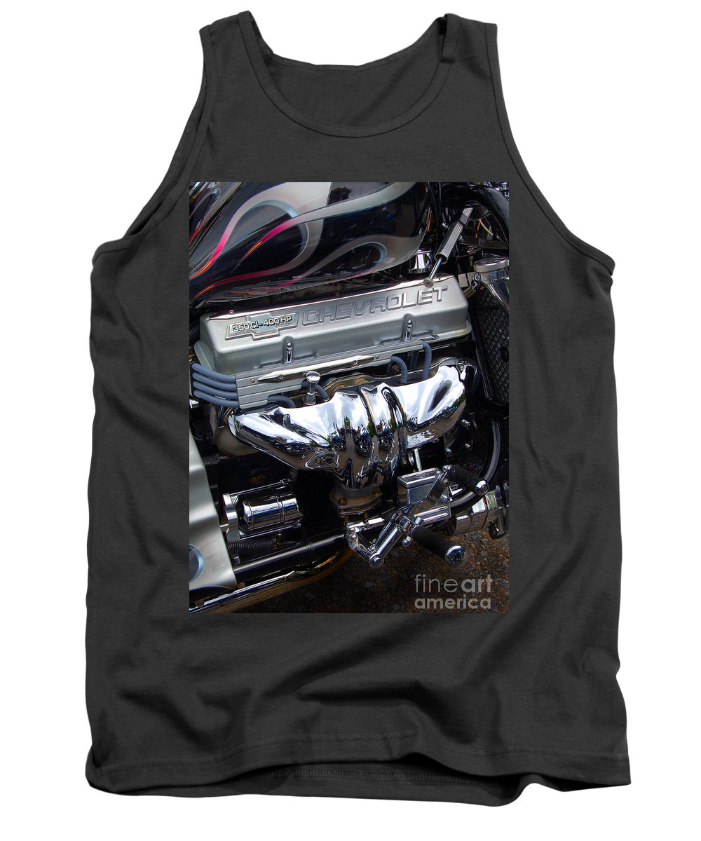 Diane Berry Tank Top featuring the photograph Chevrolet 400 Hp by Diane E Berry