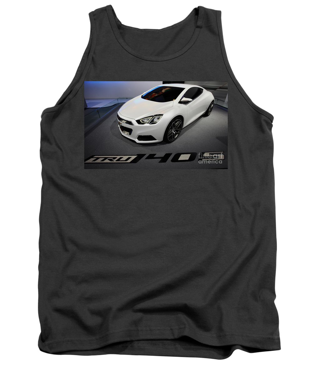 Art Tank Top featuring the photograph Chevrolet Tru 140s Concept by Alan Look