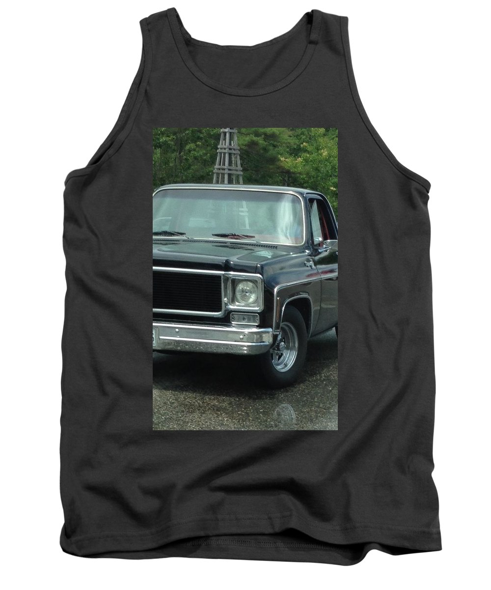 Chevy Truck Tank Top featuring the photograph Chevy Vintage Truck by Michael Martone