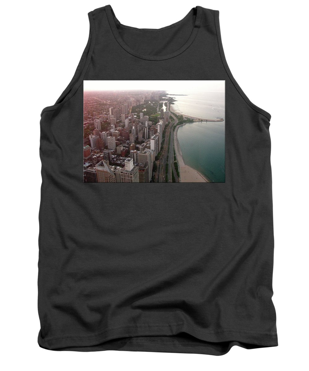 Chicago Tank Top featuring the photograph Chicago Coastline by Brittany Horton