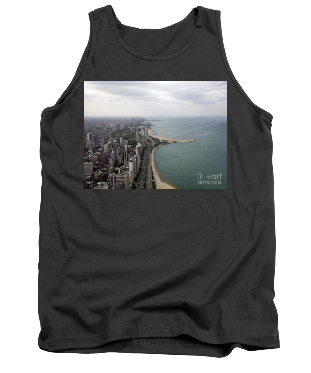 Chicago Tank Top featuring the photograph Chicago by Madeline Ellis