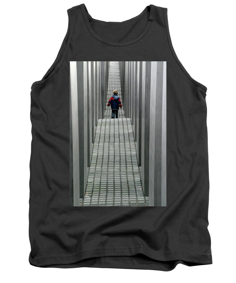 Berlin Tank Top featuring the photograph Child In Berlin by KG Thienemann