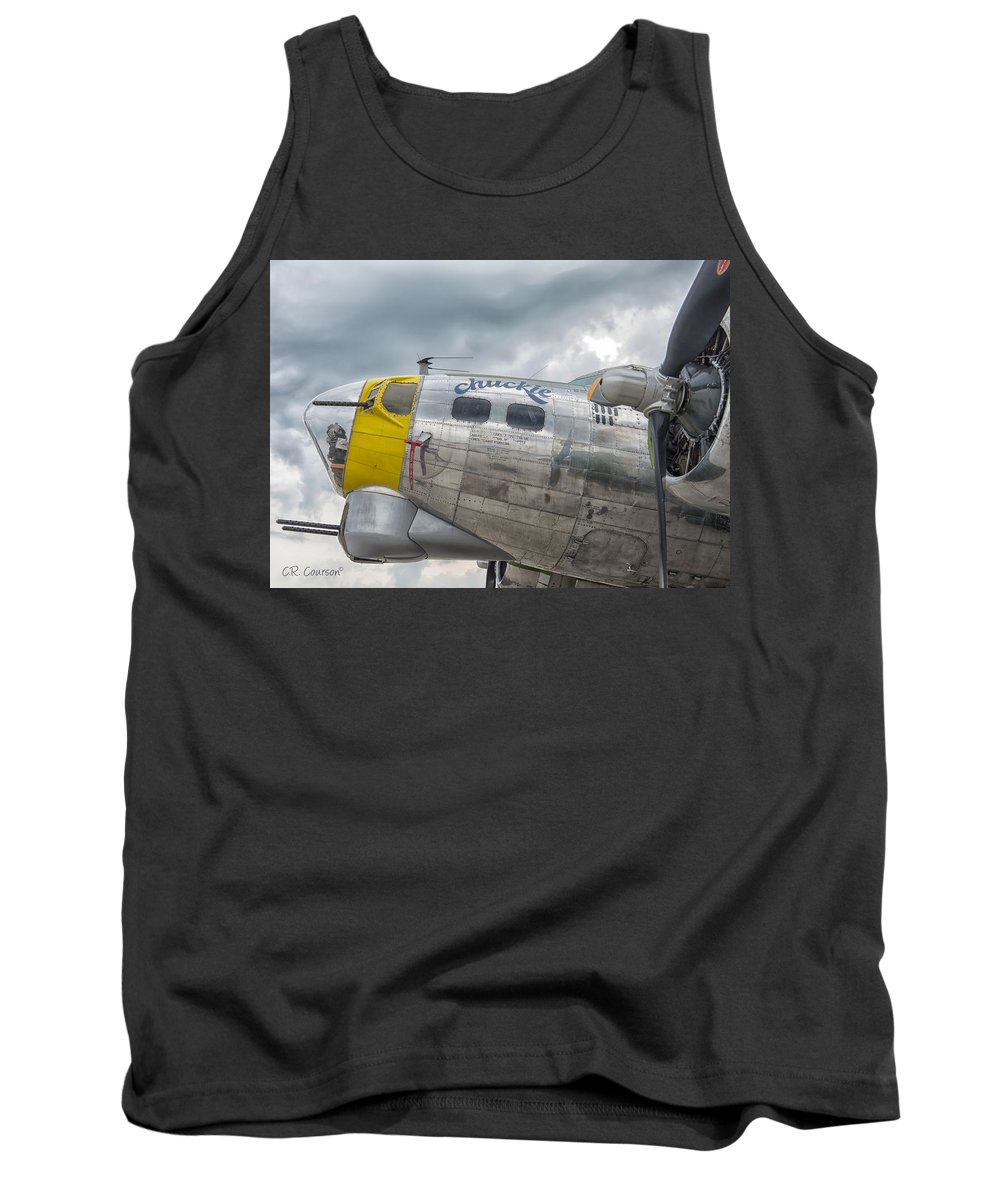 B-17 Tank Top featuring the photograph Chuckie by CR Courson