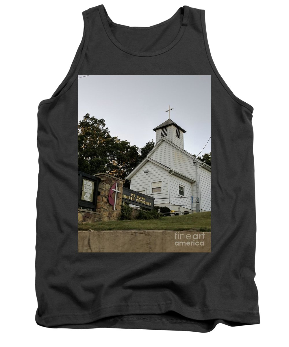 Church Tank Top featuring the photograph Church In The Country by Braylenn VanOsdol