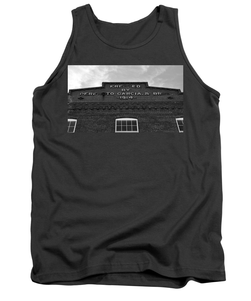 Fine Art Photography Tank Top featuring the photograph Cigar Factory 1914 by David Lee Thompson