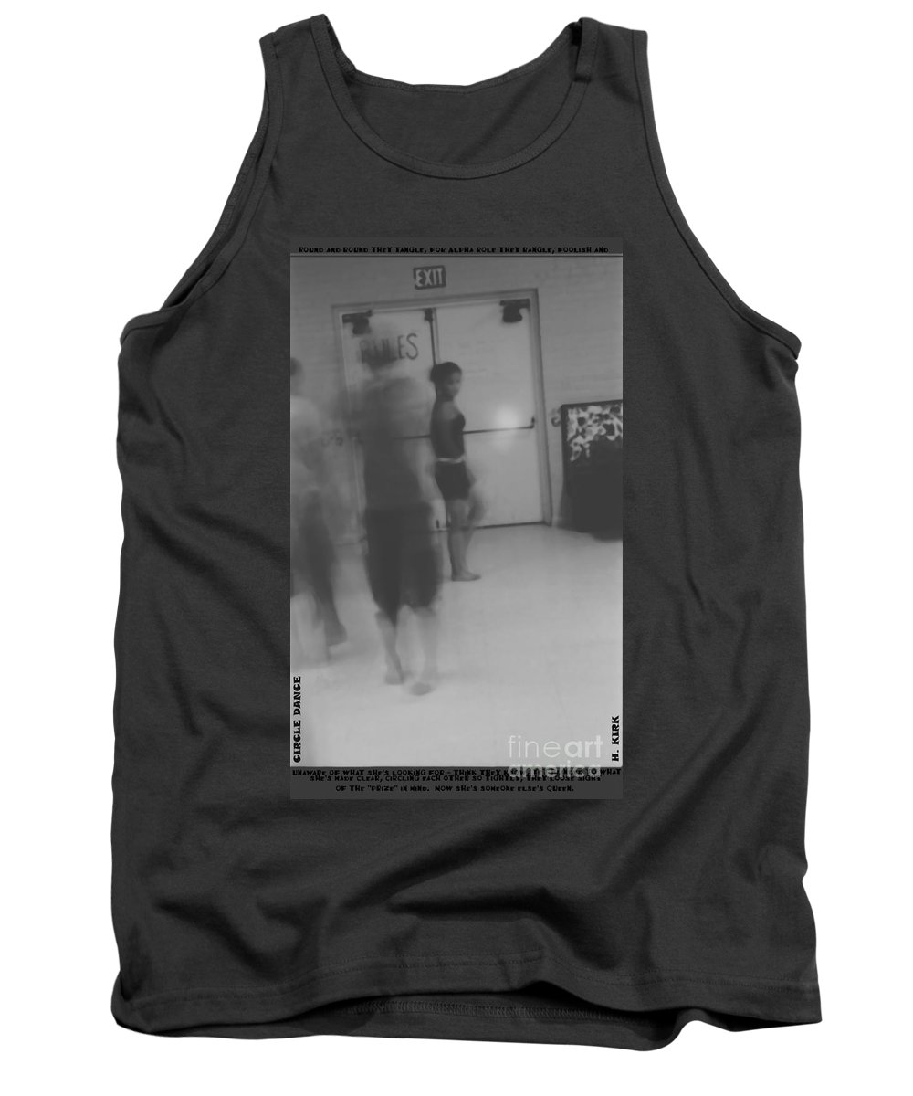 Tank Top featuring the photograph Circle Dance by Heather Kirk